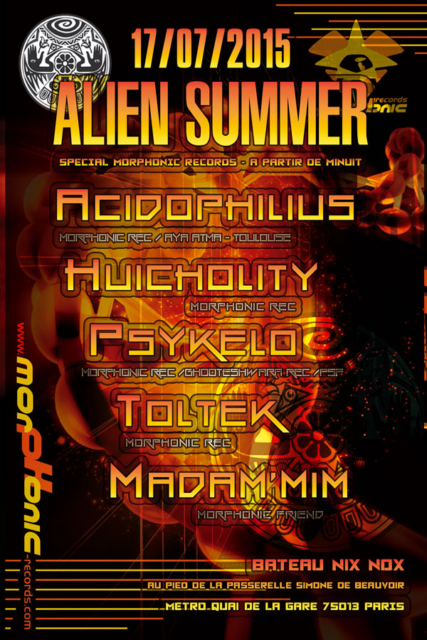 17/07/2015 - ALIEN SUMMER special Morphonic