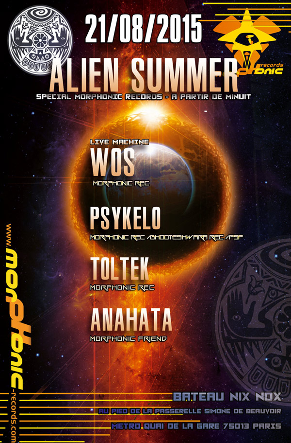 21/08/2015 - ALIEN SUMMER special Morphonic Part2